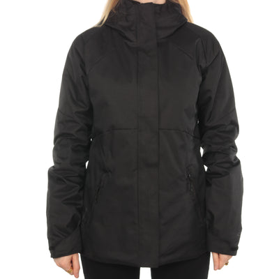 Champion - Black Puffer Lined Windbreaker - Small