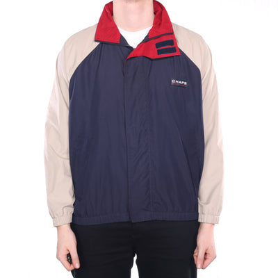 Ralph Lauren - Navy Chaps Windbreaker with Hood - Medium