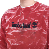 Timberland - Pink Embroidered Spellout Sweatshirt - Medium