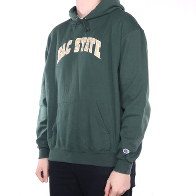 Champion - Green College Hoodie - XLarge
