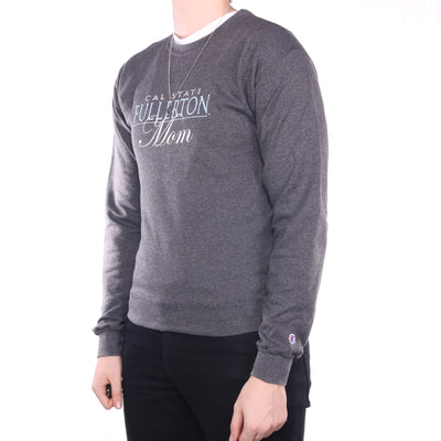 Champion - Grey Crewneck Sweatshirt - Small