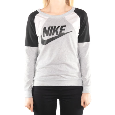 Nike - Grey Crewneck Sweatshirt - Medium