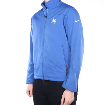 Nike - Blue Zipped Windbreaker Jacket - Medium