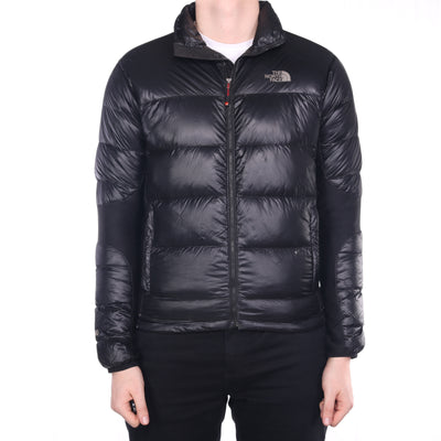 The North Face - Black Embroidered 800 Summit Series Puffer Jacket - Medium