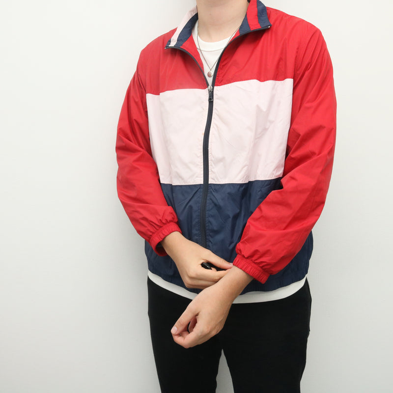 Tommy Hilfiger - Blue and Red Windbreaker - XXLarge