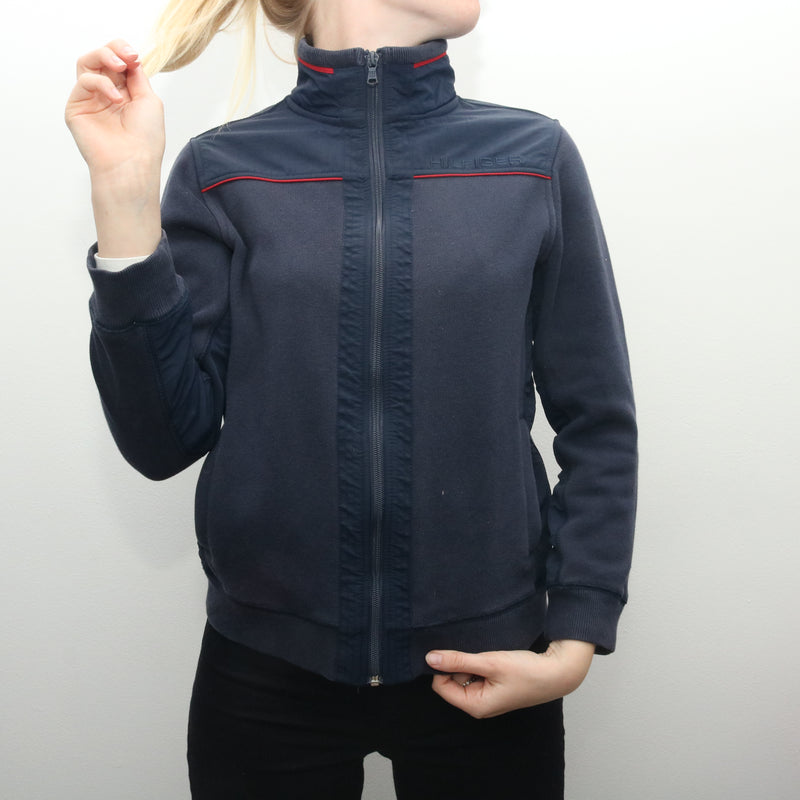 Tommy Hilfiger - Navy Zip Up Jumper - Large