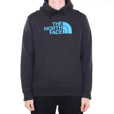 The North Face - Black Printed Hoodie - Medium