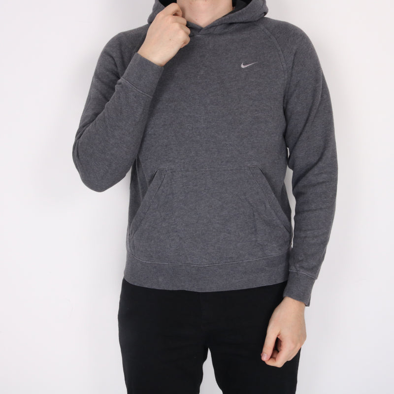 Nike -  Grey Single Stitch Hoodie - Small