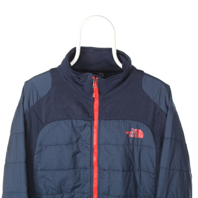 Navy The North Face Lightweight Puffer Jacket - Large