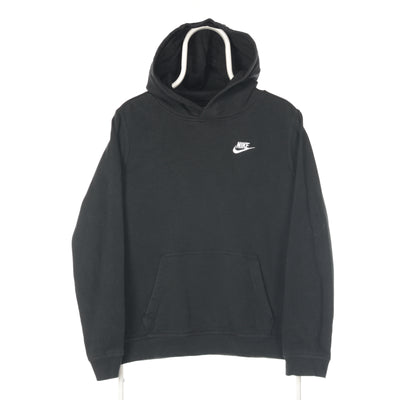 Black Nike Single Swoosh Hoodie - XLarge