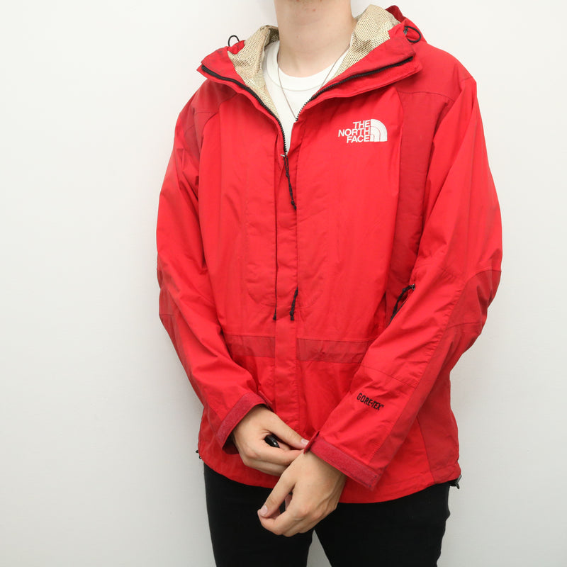 The North Face - Red Gore-Tex Windbreaker - Large