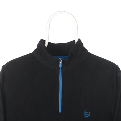 Black Ralph Lauren Chaps Quarter Zip Fleece - Medium