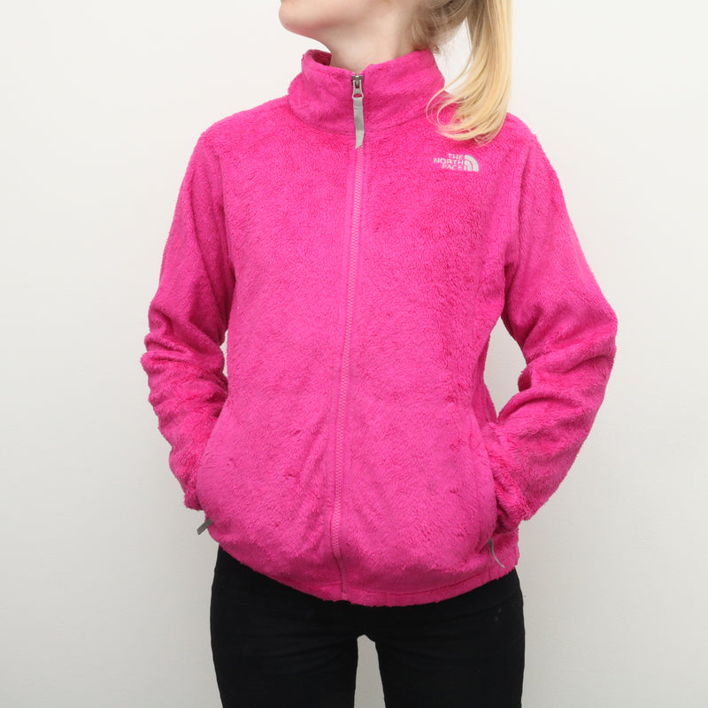 The North Face - Hot Pink Shaggy Fleece - XLarge
