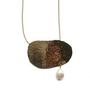 Hand Hammered Modern Necklaces