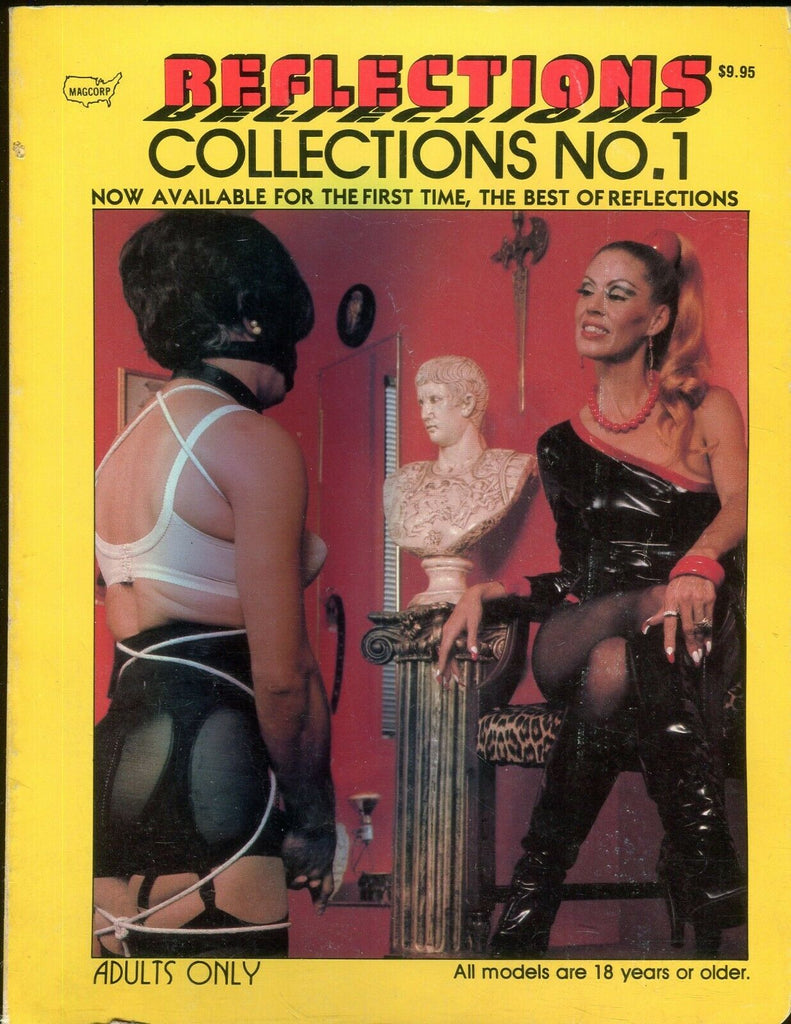 Magcorp Reflections Collections Fetish Magazine Mistress Antoinette #1 1981 111619lm-ep - Used