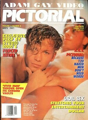 Adam Gay Video Pictorial Magazine Christian Fox/Eric York vol.3 #4 111418lm-ep - New