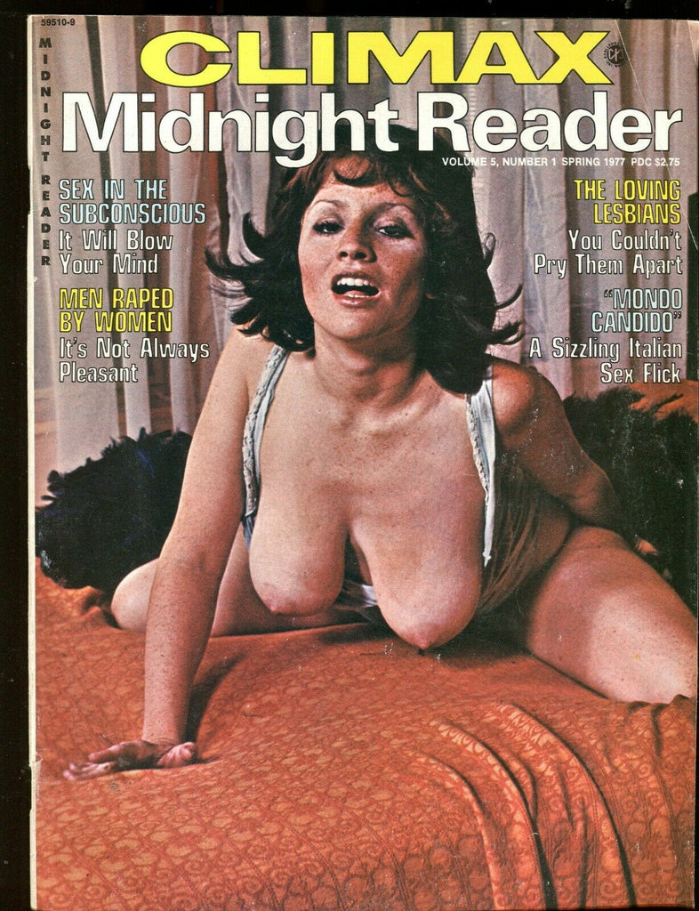 Climax Midnight Reader Magazine The Loving Lesbians Spring 1977 061219lm-ep - Used