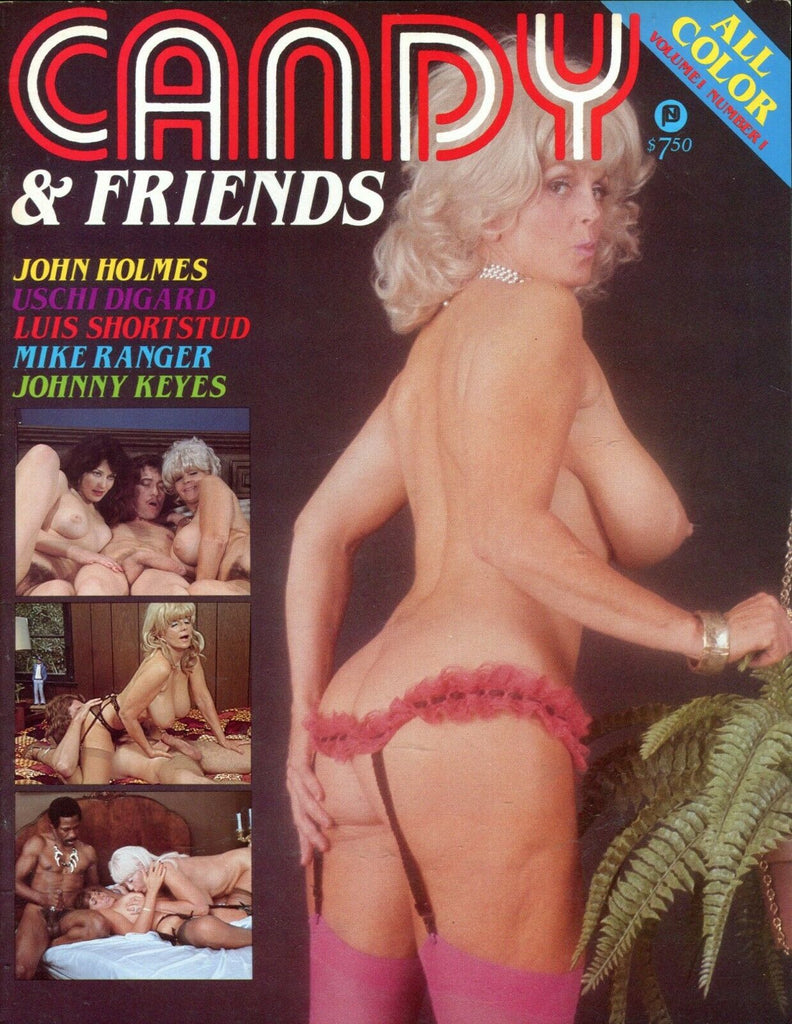 Candy & Friends Candy Samples/John Holmes/Ushi Digart #1 1982 061719lm-ep - New