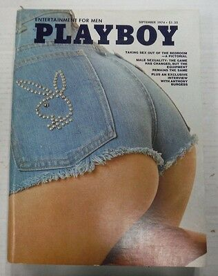 Playboy Adult Magazine Anthony Burgess Interview September 1974 nrmt 100415lm-ep - Used