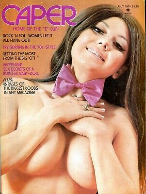 Caper Magazine Roberta Pedon July 1974 110918lm-ep - New