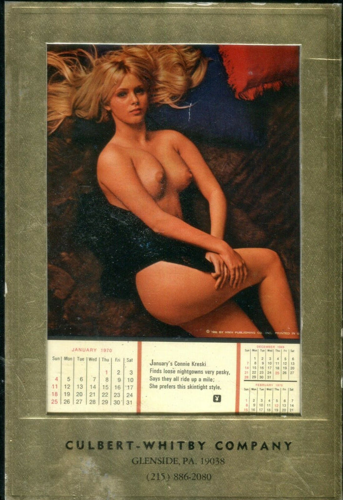 Playboy 1970 Advertising Desk Calendar 042419lm-ep2 - Used