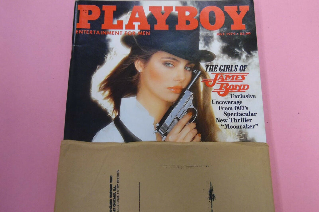 Playboy Magazine Girls Of James Bond Exclusive July 1979 010617lm-ep