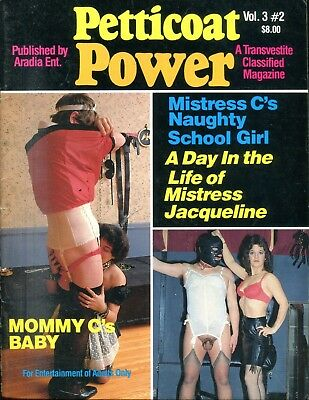 Petticoat Power Transvestite Magazine Mistress Jacqueline vol.3 #2 051518lm-ep