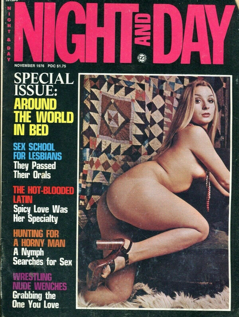 Night And Day Special Issue: Around The World In Bed November 1976 061219lm-ep - Used