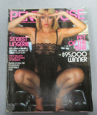 Penthouse Adult Magazine Carrie Nelson November 1978 gd 030415lm-ep - Used