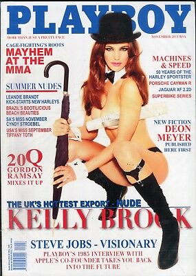 Playboy South Africa Magazine Kelly Brook November 2011 061818lm-ep - New
