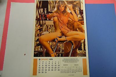 Playboy 1978 Playmate Calendar Miss Kiger 062816lm-ep - Used