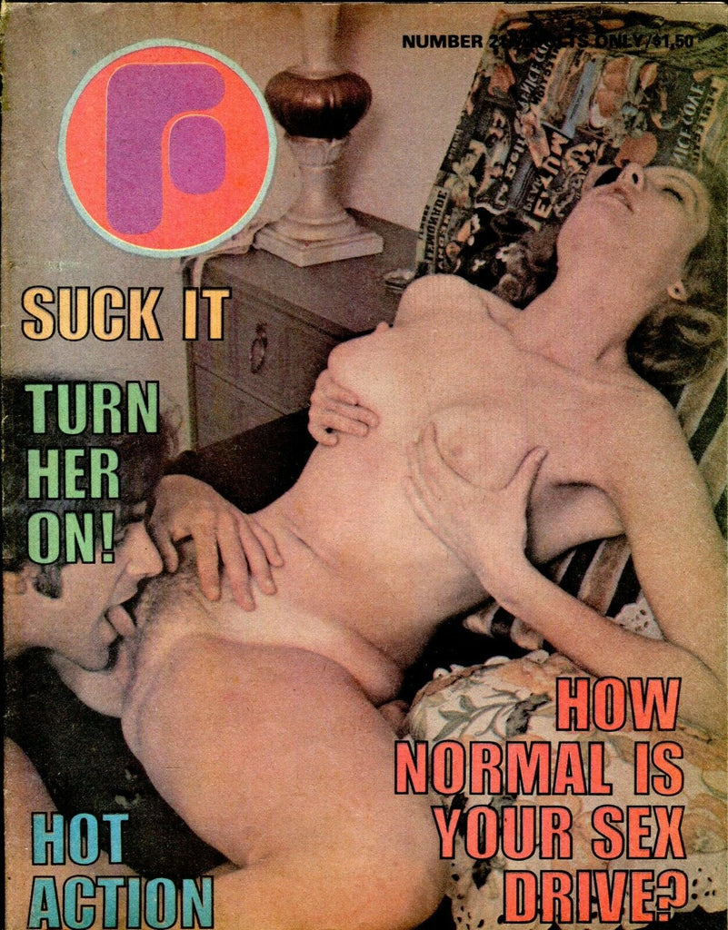 F Magazine Turn Her On! #21 1970's 060919lm-ep