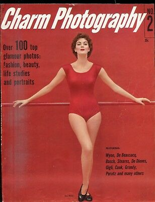 Charm Photography Magazine Jean Patchett #2 1955 063018lm-ep - Used