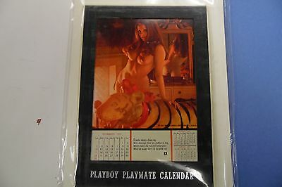 Playboy 1972 Playmate Desk Calendar 062816lm-ep - New