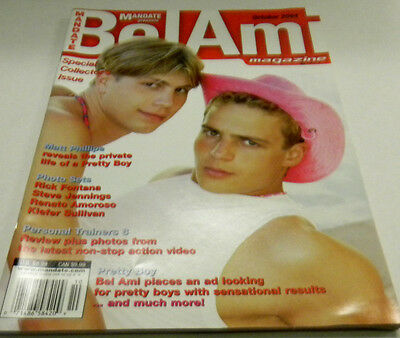 BelAmi Gay Adult Magazine Matt Phillipe October 2004 nm 010214lm-ep