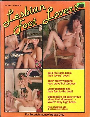 Lesbian Foot Lovers Magazine Submissive Lez Girls vol.1 #8 040618lm-ep2 - New