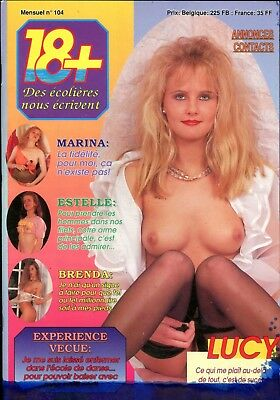 18+ French Magazine Lucy #104 060818lm-ep - Used