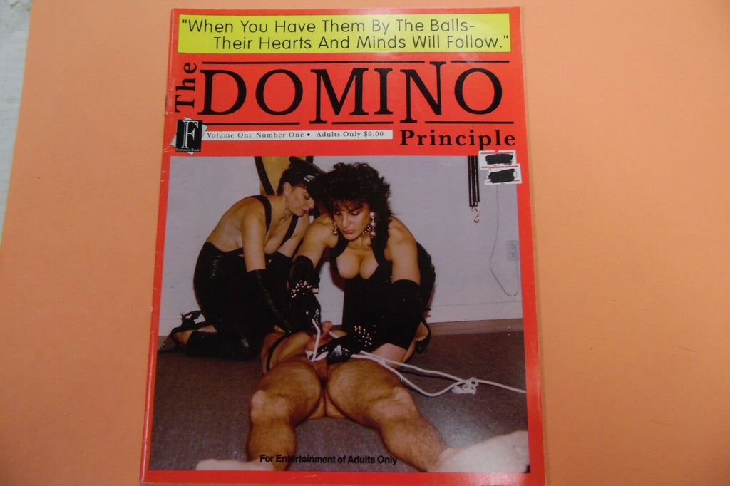 The Domino Principle Magazine vol.1 #1 1990 110716lm-ep4