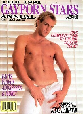 1991 Gay Porn Stars Annual Magazine Steve Hammond 040418lm-ep2 - New