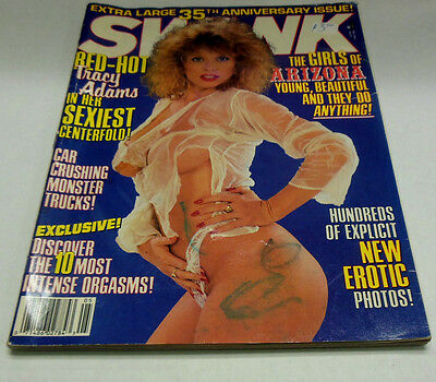 Swank Busty Adult Magazine Tracy Adams May 1989 052614lm-ep