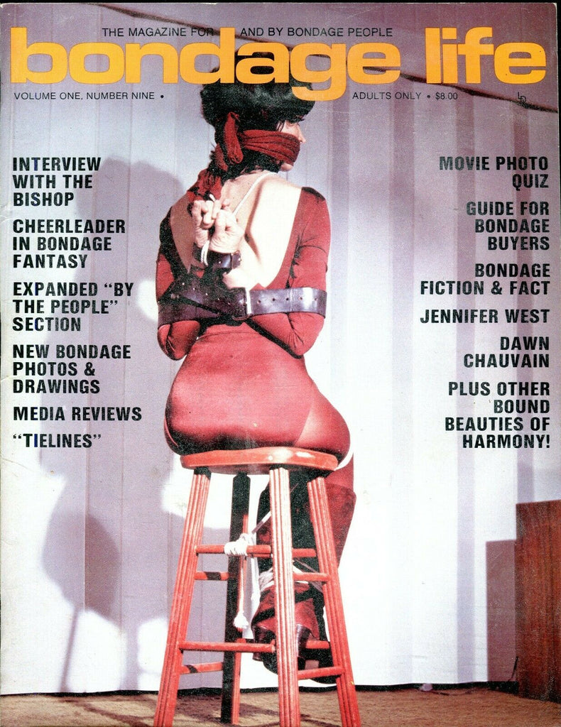 Bondage Life Magazine The Bishop/ Jennifer West vol.1 #9 June 1981 100919lm-ep
