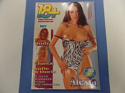 18+ Dutch Adult Magazine Cover Girl Alexia #175 ex 021116lm-ep - Used