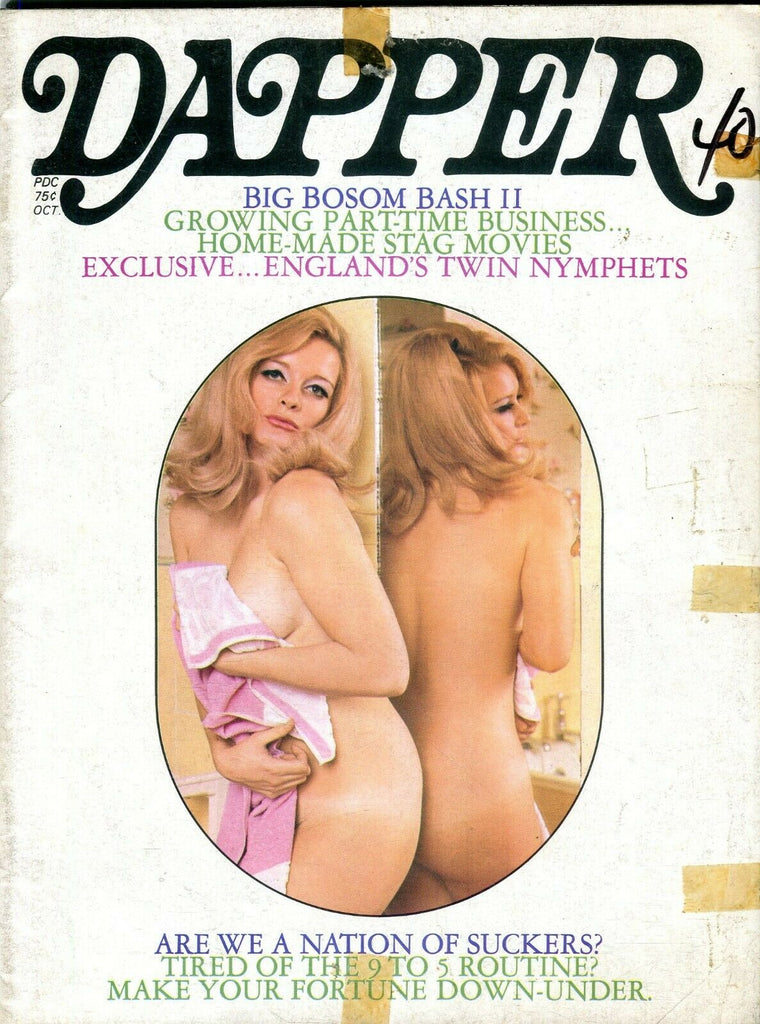 Dapper Magazine Ann Branot October 1970 102119lm-ep