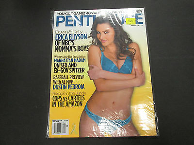 Penthouse Adult Magazine Erica Ellyson April 2009 new/sealed 032015lm-ep - New