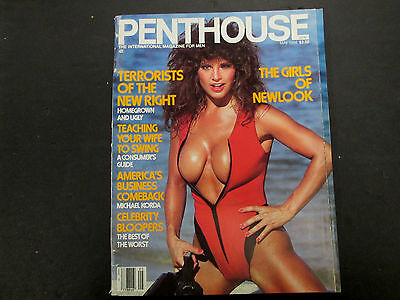 Penthouse Adult Magazine Girls Of Newlook May 1986 gd 043015lm-ep - Used
