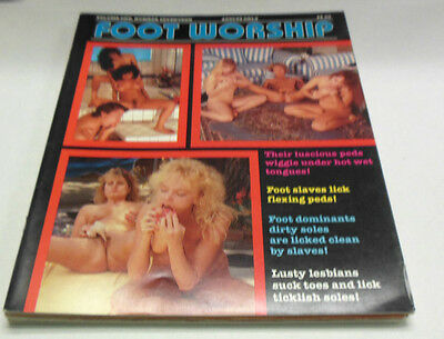 Foot Worship Busty Adult Magazine Vol.1 #17 vg 052614lm-ep
