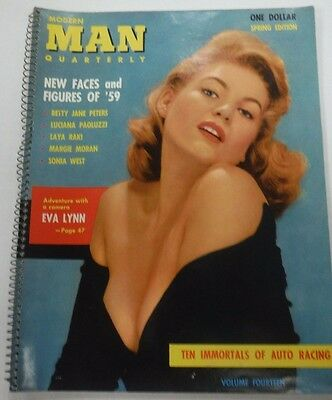 Modern Man Quarterly Adult Magazine Eva Lynn vol.14 1959 101015lm-ep