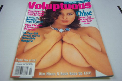 "Voluptuous - Busty Adult Magazine - ""Chloe Vevrier"" - October 1995"
