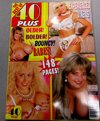 Best Of 40 Plus Adult Magazine Kitten Natividad/Busty Dusty 1998 021615lm-ep