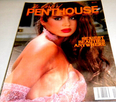 "Girls of Penthouse Adult Magazine""Sexiest Beauties"" December 1987 073113lm-ep - Used"